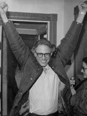 Sanders stuns Paquette Sanders sends Burlington's political