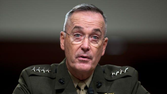 Marine Gen. Joseph Dunford is the top U.S. commander in Afghanistan.