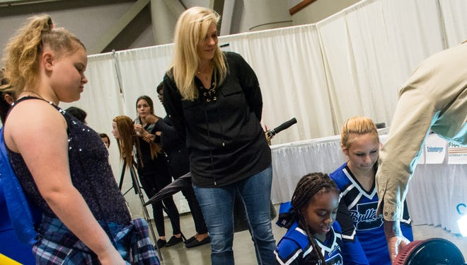 Students and parents explore Schools of Choice options at the 2015 Fall Frenzy. This year's event is from 10 a.m. to 2 p.m. November 5 at the Cajundome Convention Center.