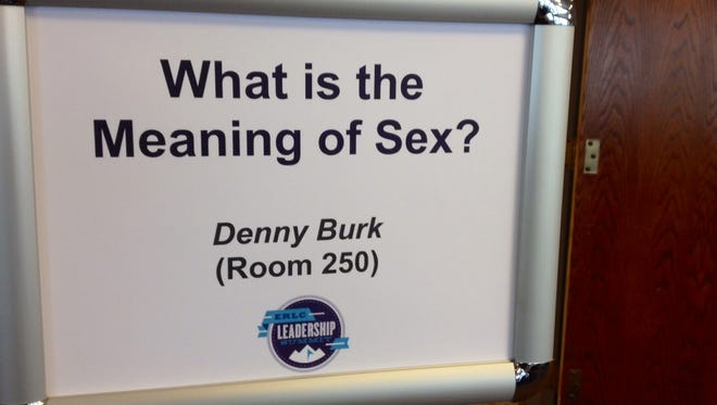 The Southern Baptist Convention is hosting a three-day summit on sex.