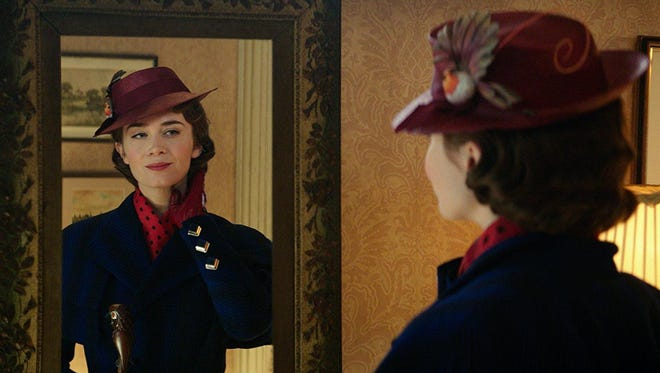 """""""Mary Poppins Returns"""" stars Emily Blunt in the role made famous by Julie Andrews in 1964."""