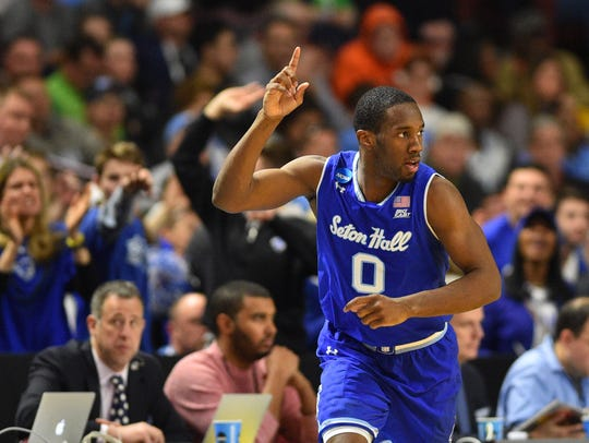 Seton Hall guard Khadeen Carrington decided to return