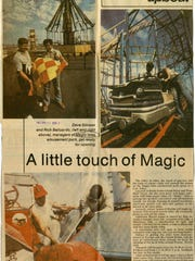 The Corpus Christi Times article on Magic Isles from April 14, 1978. Magic Isles was an amusement park located at SPID and Flour Bluff Drive in Corpus Christi from 1978 to 1984.