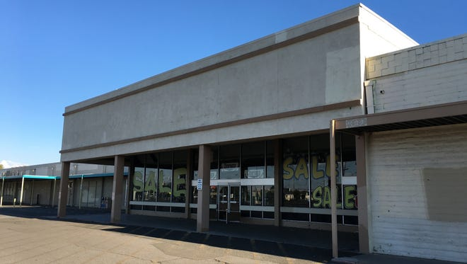 The blighted former Sak'N Save grocery store and Furniture 4 Less on Kietzke and Plumb lanes are proposed to change to a Lithia Motors.