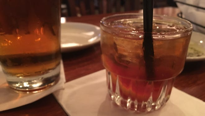An Old Fashioned from University Grill in south Fort Myers.
