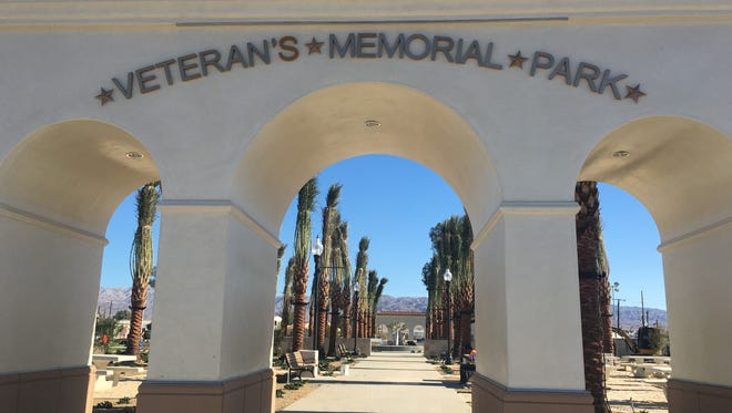 Coachella's revamped Veteran's Memorial Park re-opened to the public in early November.