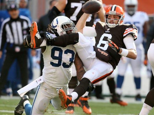 Cleveland Browns quarterback Brian Hoyer
