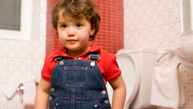 Potty training usually starts around age two, but there is no correct age to begin.