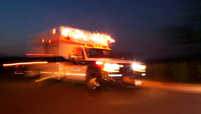Cass County sheriff's officials say in a news release Sunday that the collision occurred about 6:25 p.m. Saturday when a girl operating the golf cart failed to yield the right of way to the pickup in Porter Township.