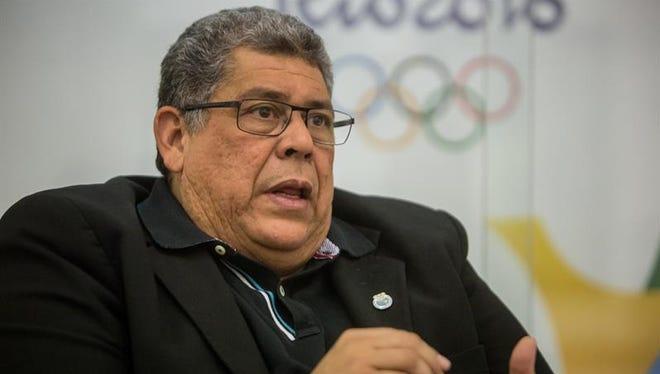 El presidente del Comité Olímpico Venezolano, Eduardo Álvarez.
