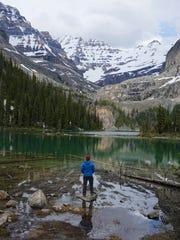 Lake O'Hara in British Columbia.