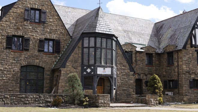The Penn State University Kappa Delta Rho fraternity house in State College, Pa., on March 17, 2015.