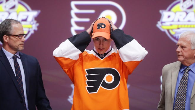 German Rubtsov was selected 22nd overall by the Flyers Friday night.