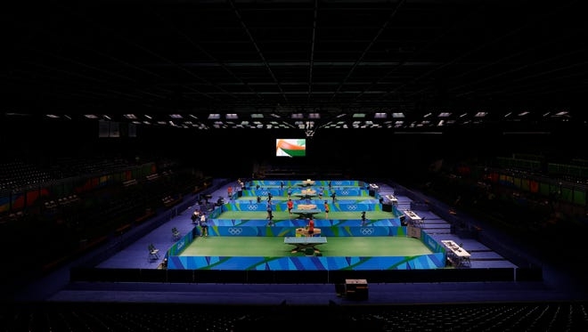Sports betting on the Olympics returns in Las Vegas, including events linesmakers don't know bunches about, like table tennis.