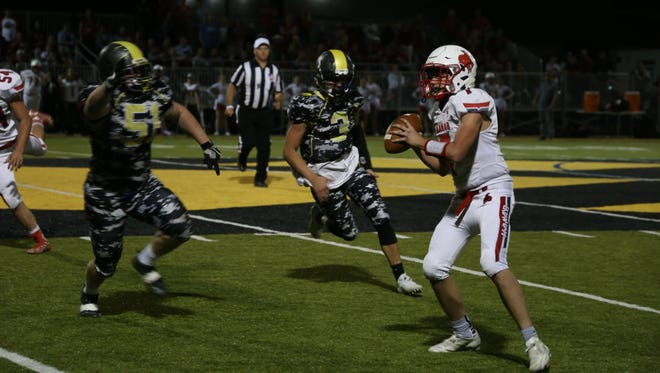 Kanab defeated Diamond Ranch 40-18 Friday night in rematch of last year's 1A state title game.