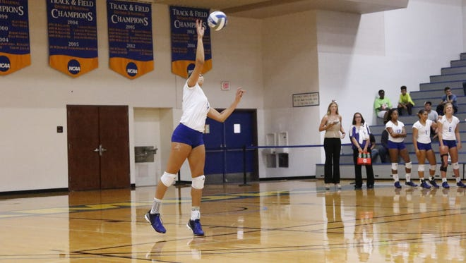 A&M-Kingsville middle blocker Lexi Wick and the Javelinas will play in the volleyball program's first NCAA Tournament match on Thursday against Lone Star Conference rival Angelo State.