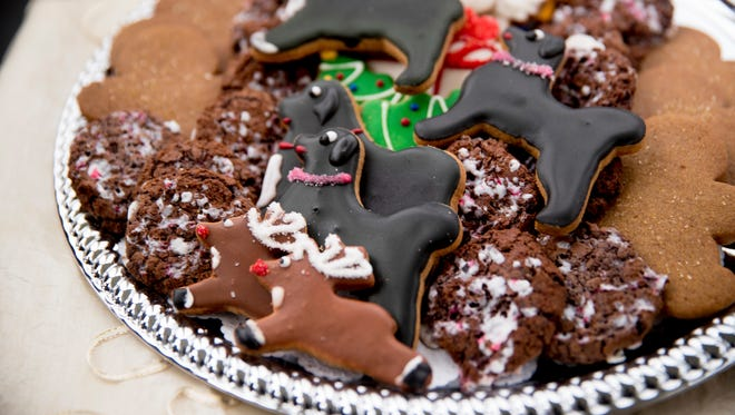 Holliday cookies are a staple of the season. They can be a comforting reminder of home. They can also be done on a college budget.