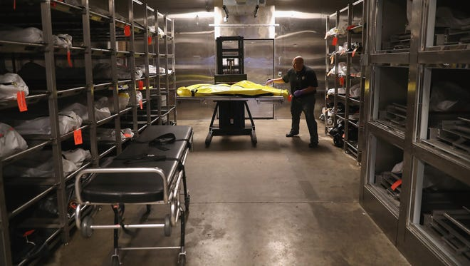 Unfortunately, the story of a man who was found alive after a night in a morgue refrigerator did not end happily.