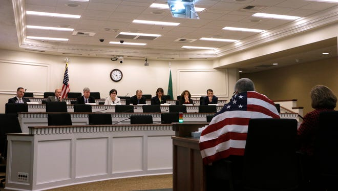 Member of the bipartisan Education Funding Task Force listen to testimony on Monday in Olympia. Lawmakers returned to the Capitol for a 105-day legislative session, tasked with the final piece of an education funding puzzle they have spent years trying to solve.