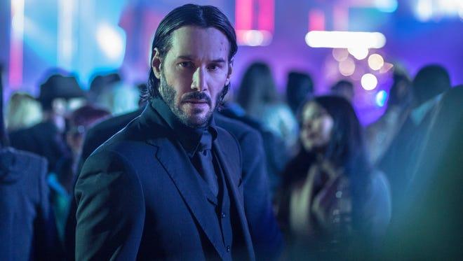 "Keanu Reeves stars in ""John Wick: Chapter 2."""