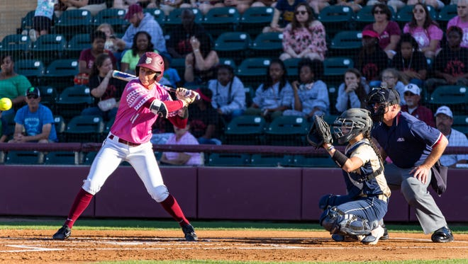 With a powerful swing, Florida State redshirt senior Alex Powers has been carrying the Seminoles offense this season.