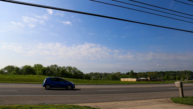 The new proposed lot area for a Clarksville Kroger to be built on the corner of Tiny Town Road and Needmore Road.