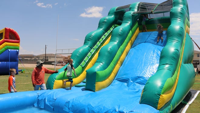 Fort Bliss will have its Aquapalooza event June 17 at Biggs Park.