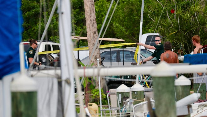 body has been found at the Paradise Marina in North Fort Myers. The cause of death is unknown at this time, but the Lee County Sheriff's Office is investigating.