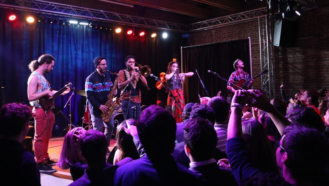 On Friday, Jan. 13, local band Just Chameleons performed at The Junction in celebration of their newly released EP 'Propaganda' with special music guests Funki Destini and Good Times Floral Shop.