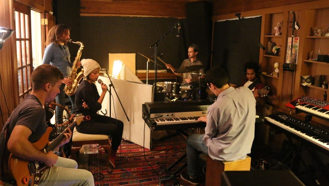 Ecology recording in their friend's home studio.