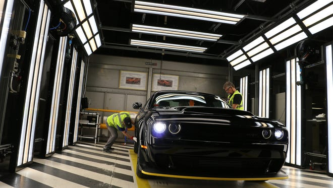 The last 2018 Dodge Challenger SRT Demon was produced at the Brampton Assembly Plant in Brampton, Ontario, on Wednesday, May 30, 2018.