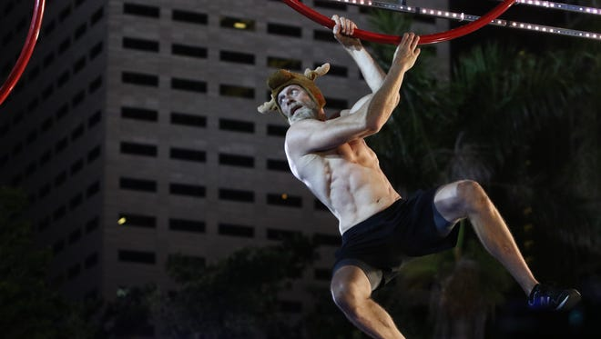 "Cape Coral teacher Morgan ""Moose"" Wright competes on the June 13 episode of ""American Ninja Warrior."""