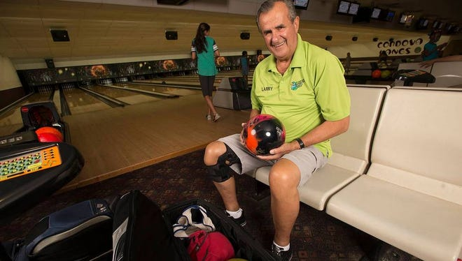 Larry Draeger, has bowled regularly since he was 15.   In September, the 77-year-old will participate in the City of Pensacola's 2016 Pensacola Senior Games, and can still bowl a mean strike.
