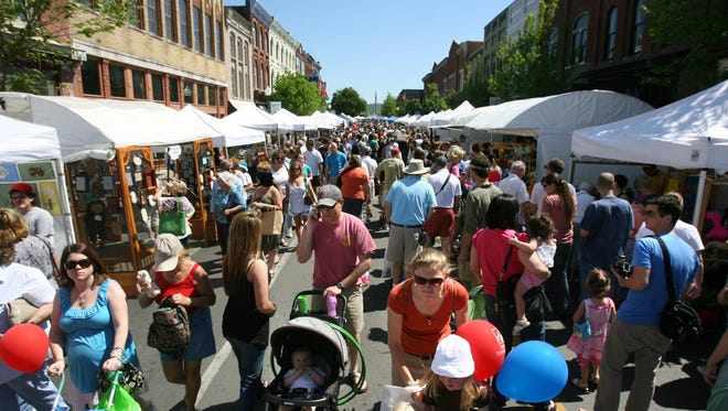 FILE - The Main Street Festival in Franklin.