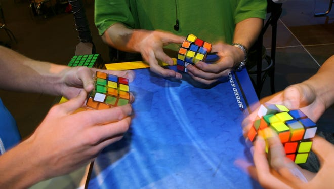 """Rubik's Cube inventor Erno Rubik says he's OK with having the solution to his puzzle on the Internet: """"To make it hidden makes it more difficult and disturbing."""""""