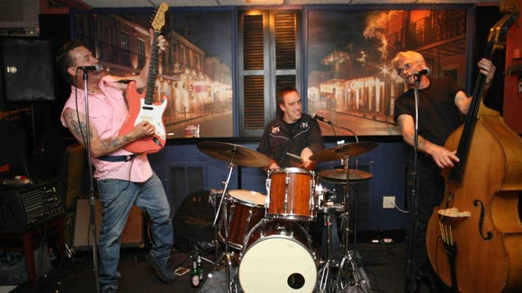 Wilmington rockabilly band The Bullets will team up with surf rock act The Elk-Tones at the Logan House in Wilmington tonight.