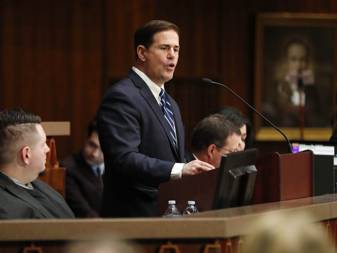 Gov. Doug Ducey gives his State of the State speech