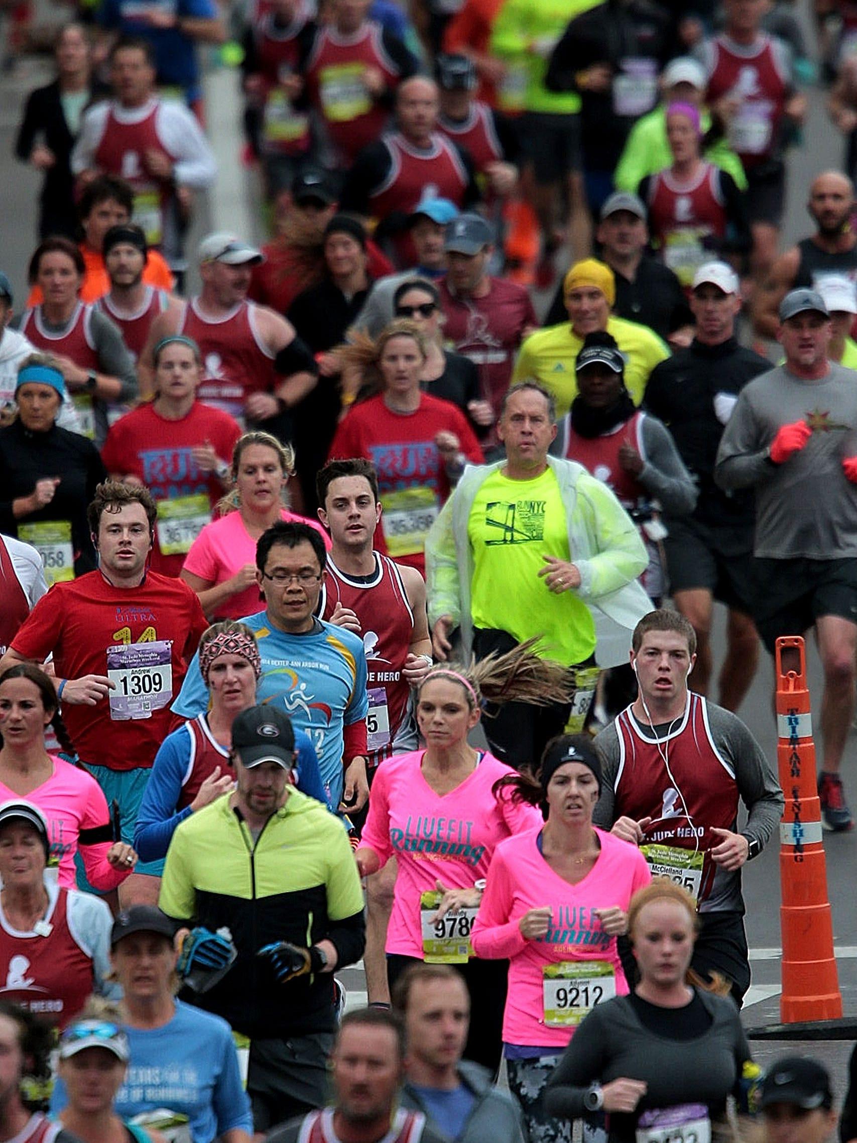 Complete St Jude Memphis Half Marathon Results