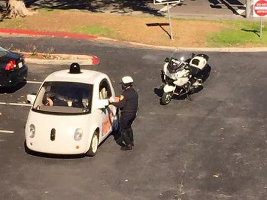 self-driving-car-pulled-over