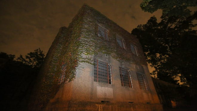 An abandoned building on the grounds of the Rockland Psychiatric Center in Orangeburg Sept. 30, 2014.