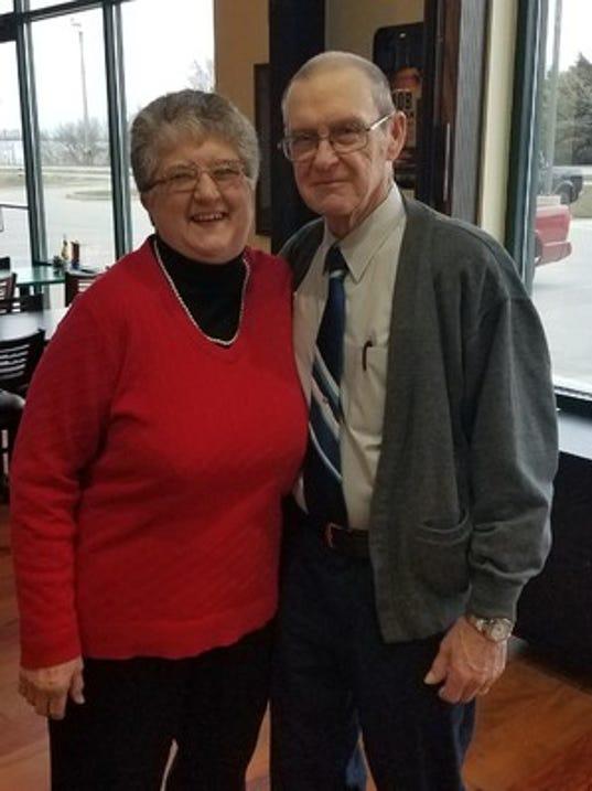 Anniversaries: Bill Rogers & Sharon Rogers