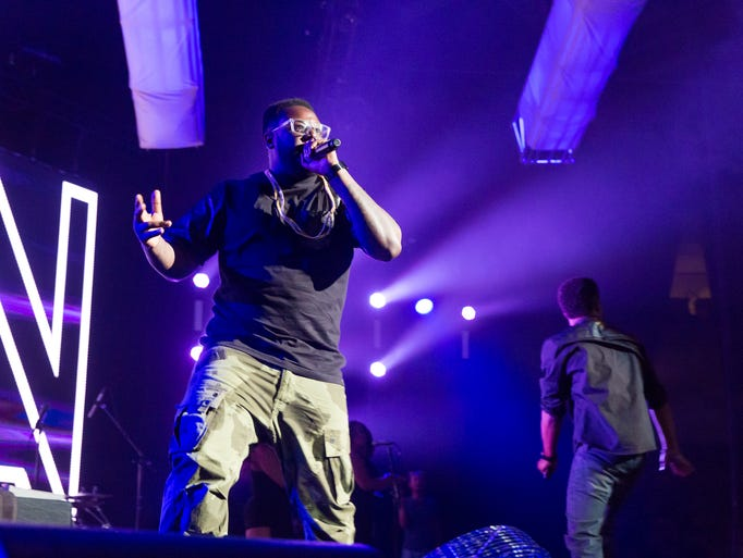 T-Pain performs at Concert Knight Thursday at UCF.