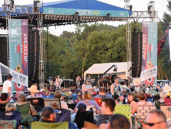 The 26th annual JazzFest kicked off at Yankton Trail