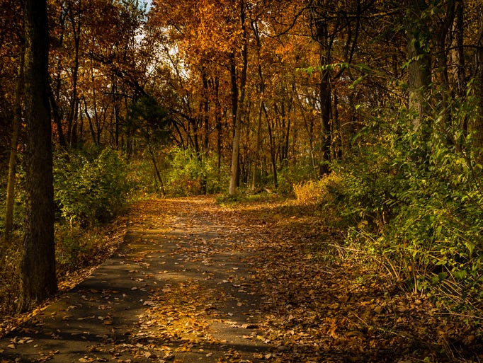 The 5-mile Wilson's Creek Greenway Trail in southwest