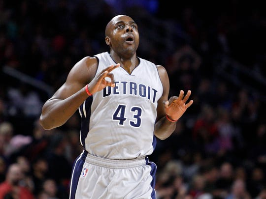 Pistons PF Anthony Tolliver (unrestricted) The word: Veteran presence would love to return, but Pistons will explore other options.