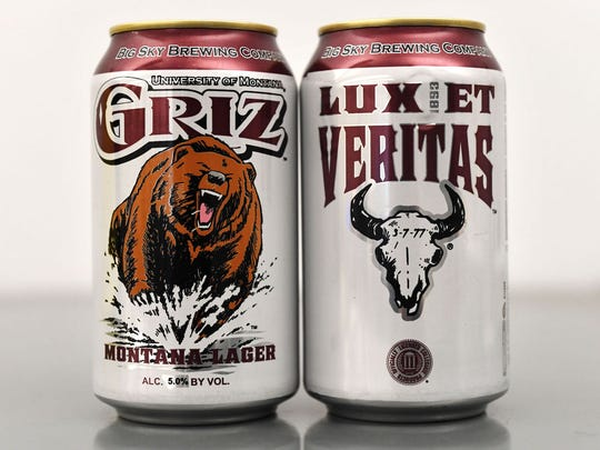 Griz Montana Lager, University of Montana, Big Sky
