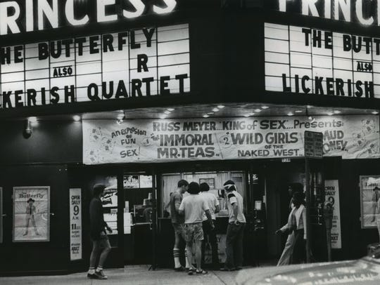 The Princess Theatre on N. 3rd St. was one of Milwaukee's