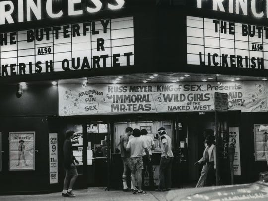 The Princess Theatre on N. 3rd St. was one of Milwaukee's best-known adult movie theaters.