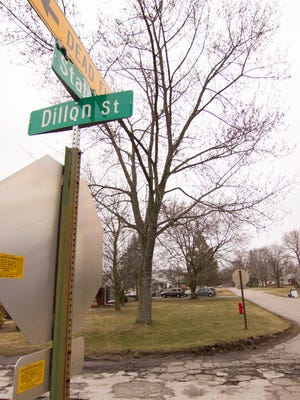 Houses along State St. between Dillon and Seventh streets, shown Wednesday, March 28, 2018, lie within the outlined area of groundwater contamination from a decades old incident.
