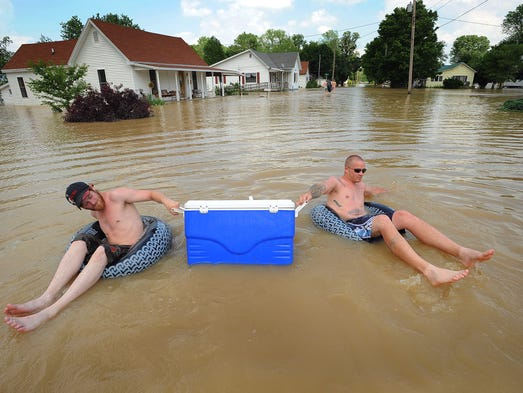 Looking Back At The 2008 Floods In Indiana